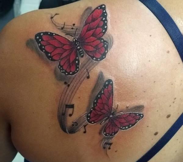 Tatuaż Motyl Znaczenie Historia 40 Zdjęć