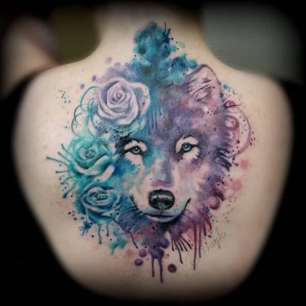 Tatuaż Wilka Znaczenie Historia 135 Zdjęć