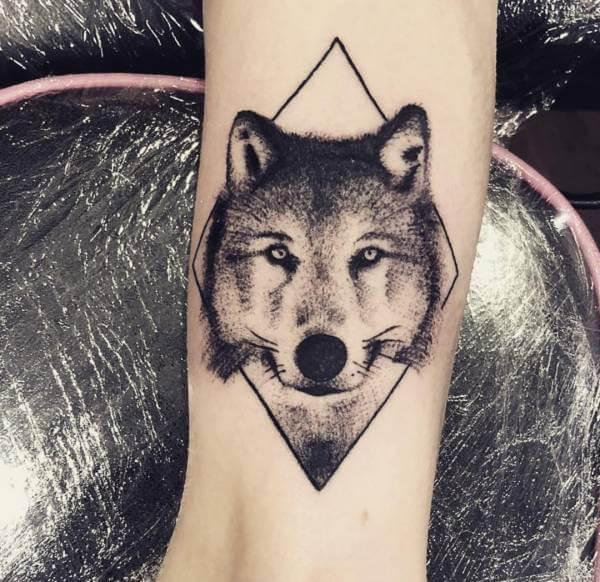 Tatuaż Wilka Znaczenie Historia 115 Zdjęć