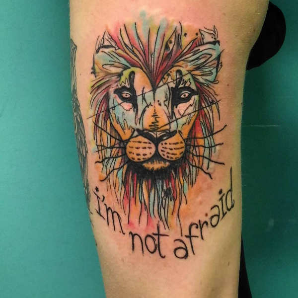 Tatuaż Lew Znaczenie Historia 50 Zdjęć