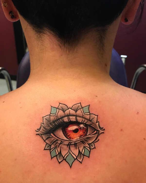 Tatuaż Z Wizerunkiem Oka Znaczenie Historia 50 Zdjęć