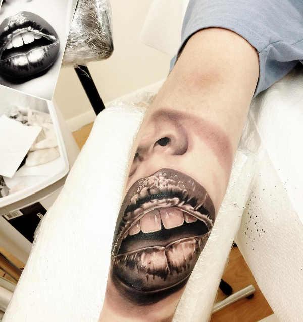 Tatuaże W 3d 100 Realistyczne Wzory