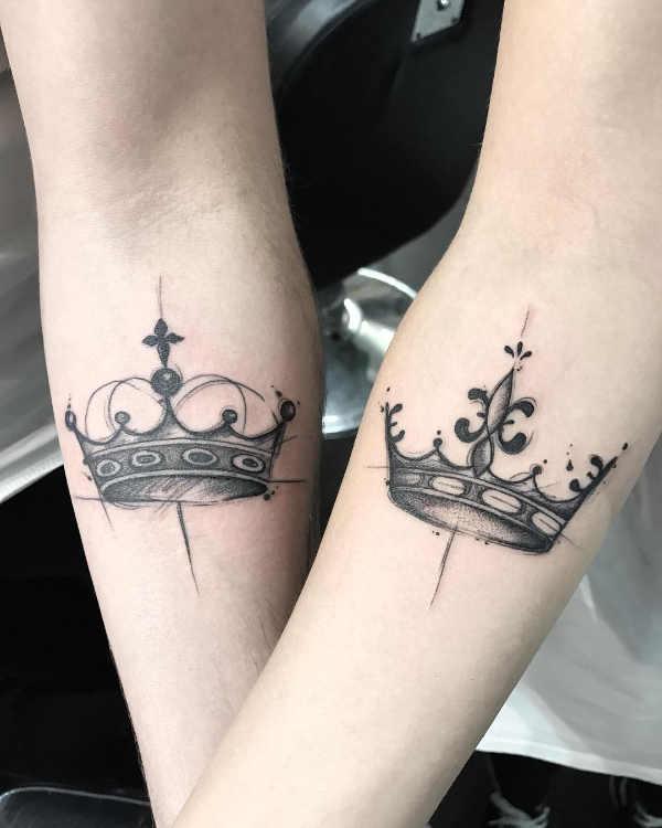 Pomysły Na Tatuaże Dla Par Znaczenie 50 Zdjęć Część 1