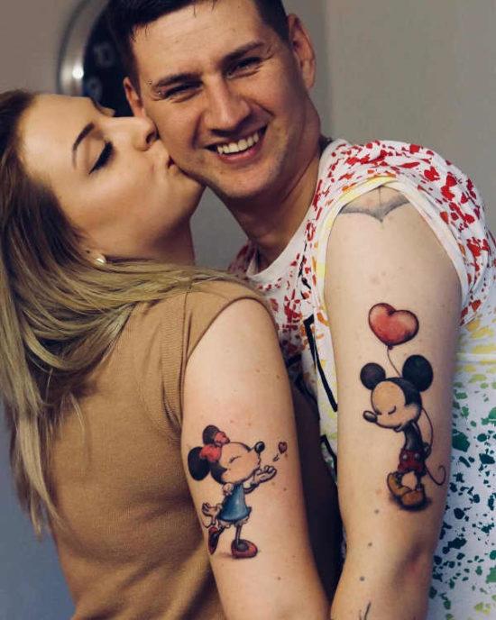 Pomysly Na Tatuaze Dla Par Znaczenie 50 Zdjec Czesc 1
