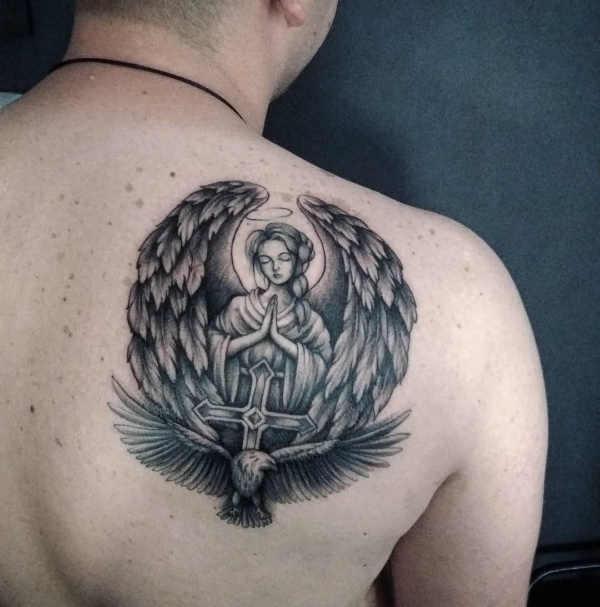 Tatuaż Anioł Znaczenie Historia 48 Zdjęć