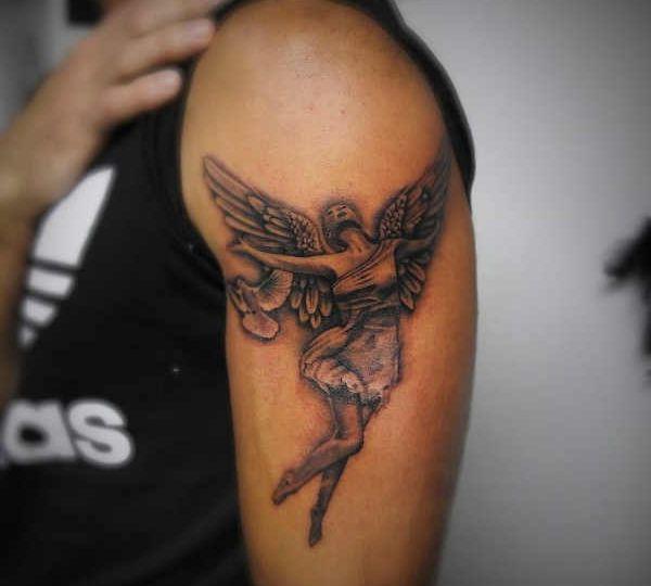 Tatuaz Aniol Diabel