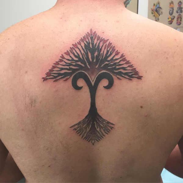 Znaczenie tatuaży Znaki zodiaku  Tatuaże ze znakami zodiaku: baran – znaczenie, historia, 40 zdjęć