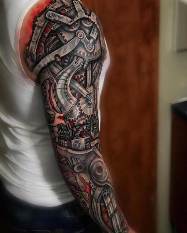 Tatuaż Biomechanika Znaczenie Symbolika 100 Zdjęć