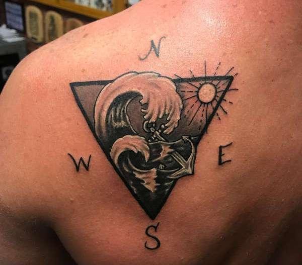 Tatuaż Fala Znaczenie Historia 40 Zdjęć