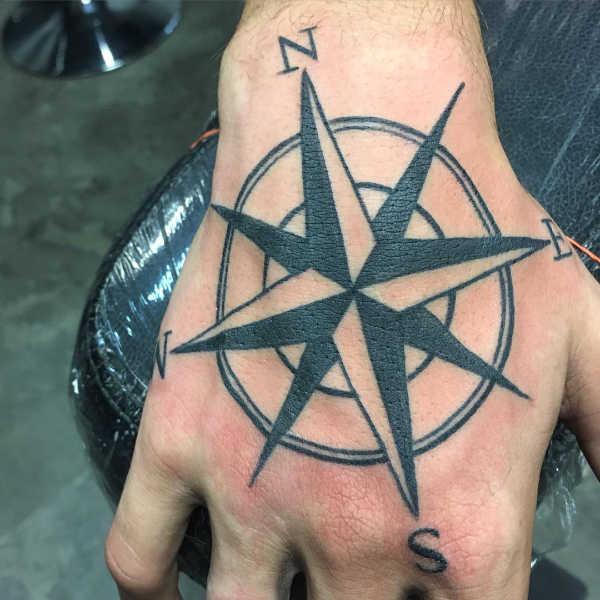 Tatuaż Gwiazda żeglarska Znaczenie Historia 17 Zdjęć