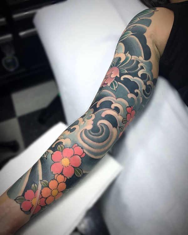 Tatuaż Kwiat Wiśni Znaczenie Historia 30 Zdjęć