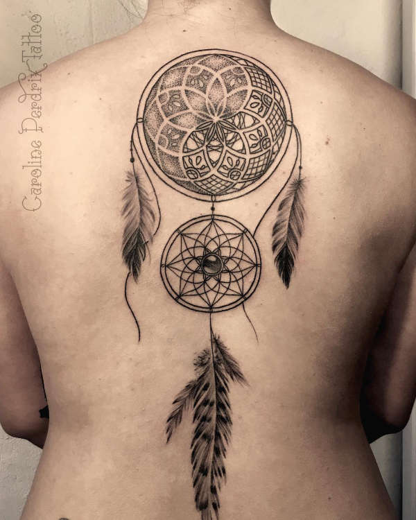 Tatuaż łapacz Snów Dreamcatcher Znaczenie Historia 50