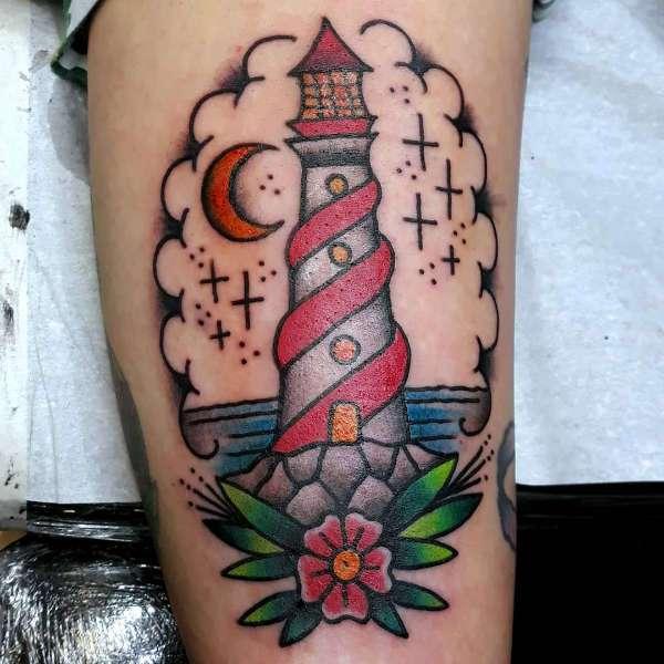 Znaczenie tatuaży  Tatuaż latarnia morska – znaczenie, historia, 30 zdjęć
