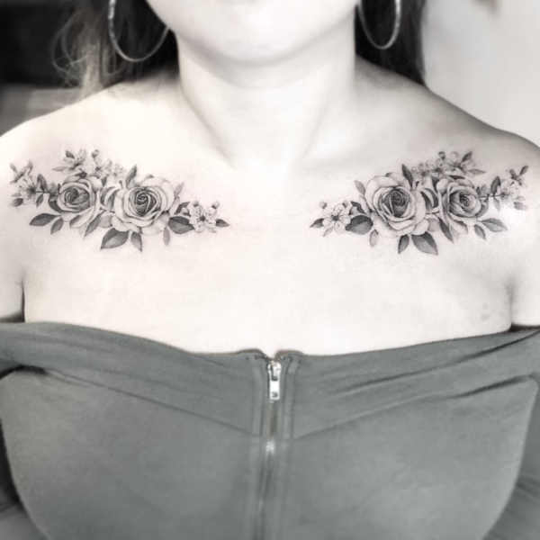 Tatuaż Na Obojczyku 150 Pięknych I Inspirujących Wzorów