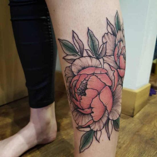 Tatuaż Piwonie Znaczenie Historia 40 Zdjęć
