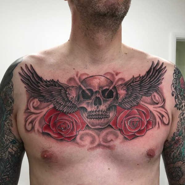 Znaczenie tatuaży  Tatuaż skrzydeł – znaczenie, symbolika, 84 zdjęć