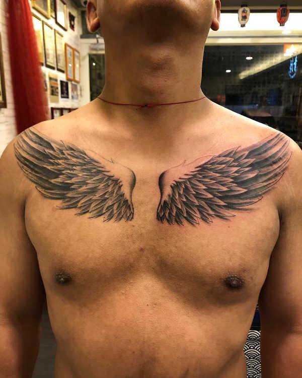 Tatuaż Skrzydeł Znaczenie Symbolika 84 Zdjęć