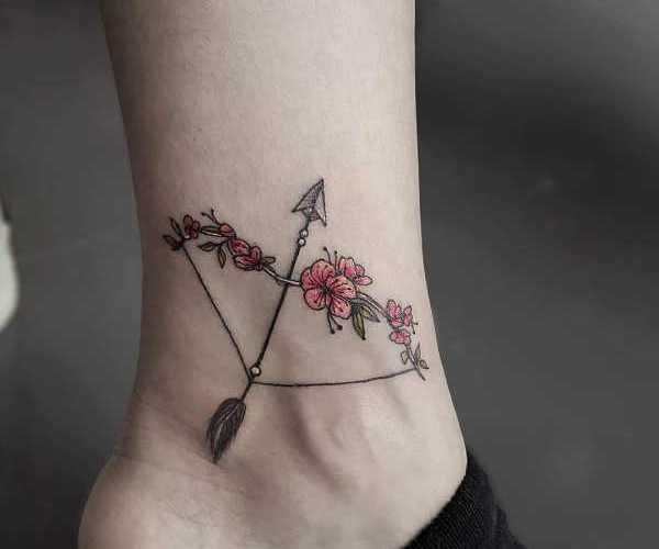 Tatuaż Strzała Znaczenie Historia 75 Zdjęć