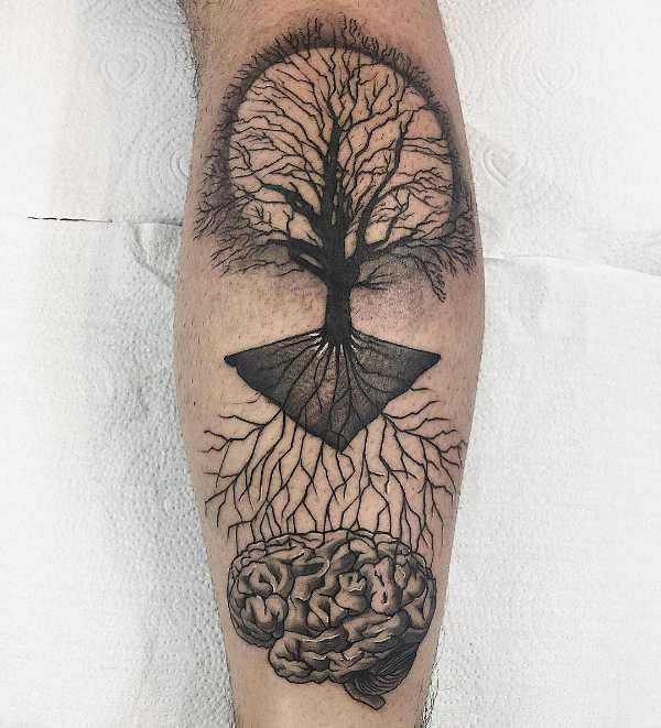 Tatuaż Drzewo Znaczenie Historia 50 Zdjęć