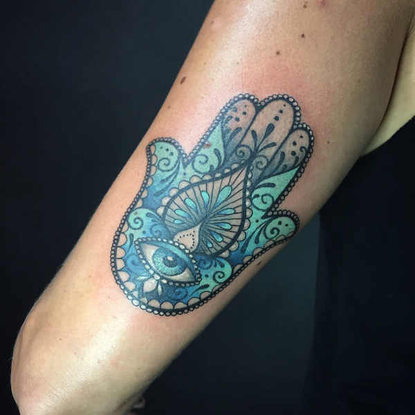Tatuaż Hamsa Znaczenie Historia 35 Zdjęć