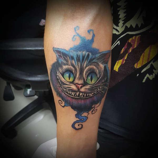 Znaczenie tatuaży Zwierzęta  Tatuaż kot – znaczenie, historia, 50 zdjęć