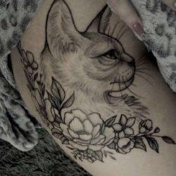 Znaczenie tatuaży Zwierzęta  Tatuaż nietoperz – znaczenie, historia, 25 zdjęć