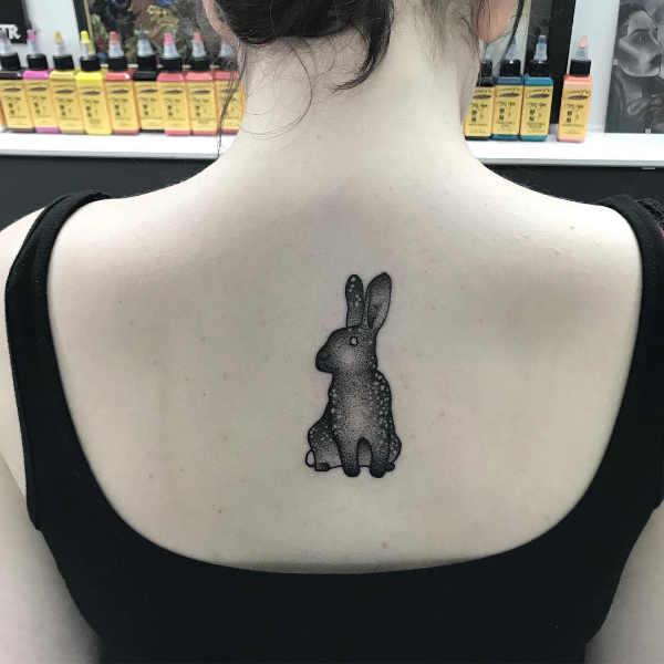 Znaczenie tatuaży Zwierzęta  Tatuaż królik – znaczenie, historia, 36 zdjęć