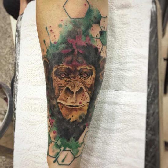 Tatuaż małpa – znaczenie, geneza, 40 zdjęć Znaczenie tatuaży Zwierzęta