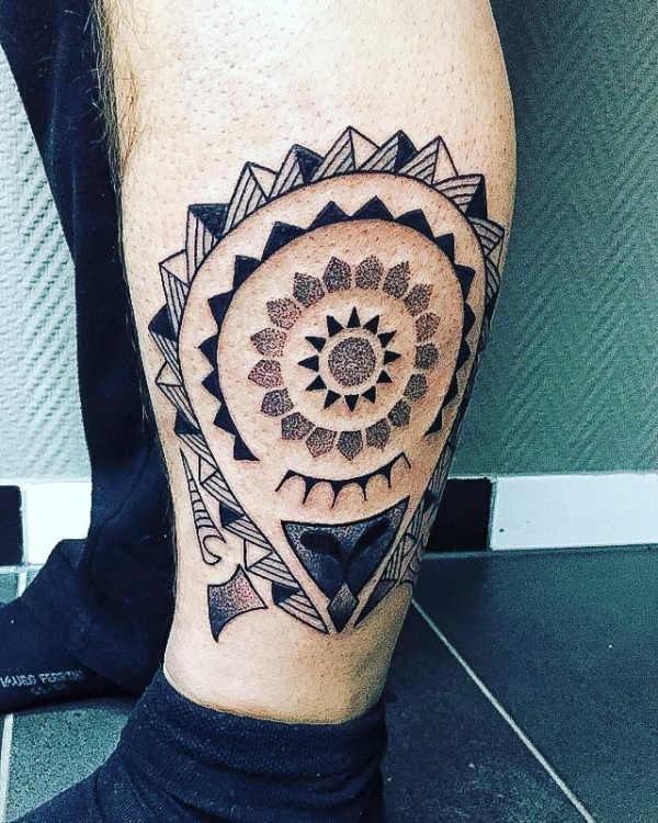 Tatuaż Z Mandalą Znaczenie Symbolika 100 Zdjęć
