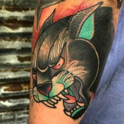 Tatuaż pantera – znaczenie, historia, 25 zdjęć