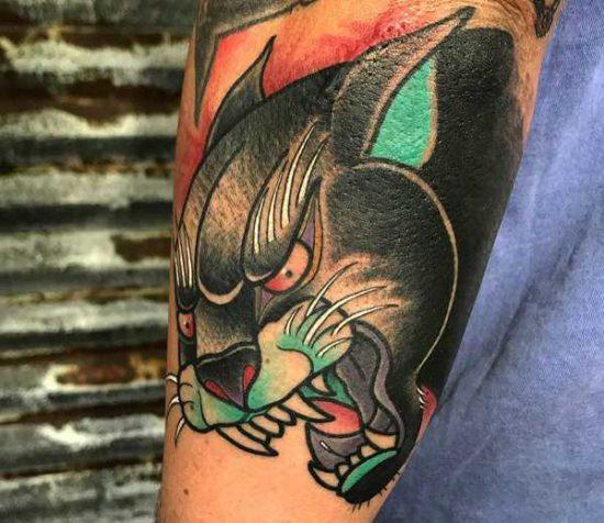 Tatuaż Pantera Znaczenie Historia 25 Zdjęć