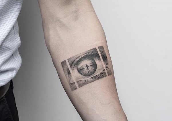 Znaczenie tatuaży  Tatuaż z wizerunkiem oka – znaczenie, historia, 50 zdjęć