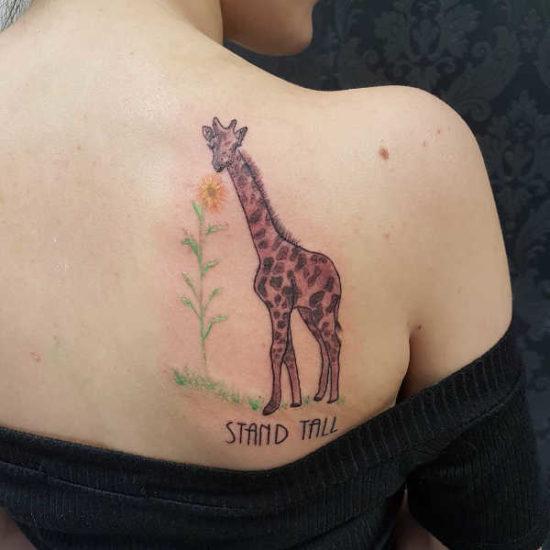 Tatuaż żyrafa – znaczenie, historia, 40 zdjęć Znaczenie tatuaży Zwierzęta