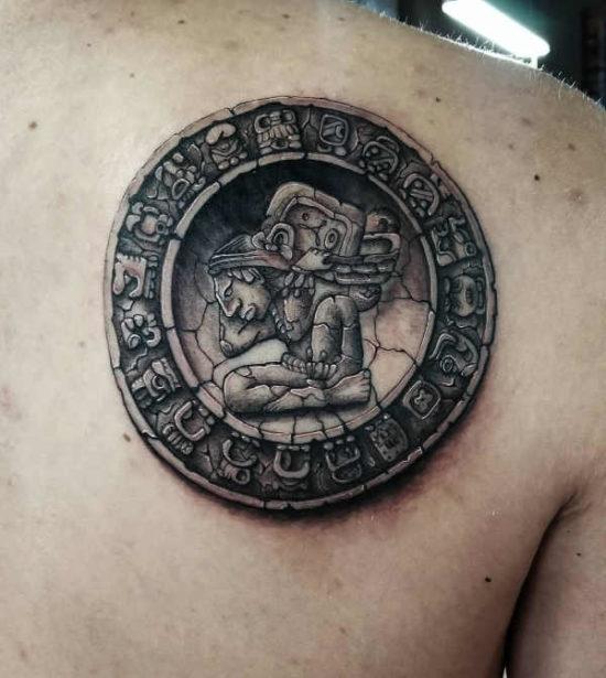 Tatuaże Azteków I Majów Znaczenie Historia 50 Zdjęć