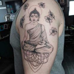 Tatuaże buddyjskie – znaczenie, historia, 30 zdjęć