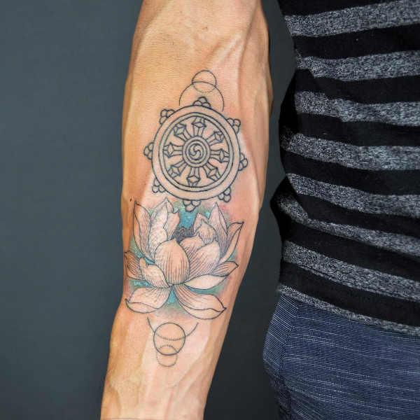 Tatuaże Buddyjskie Znaczenie Historia 30 Zdjęć