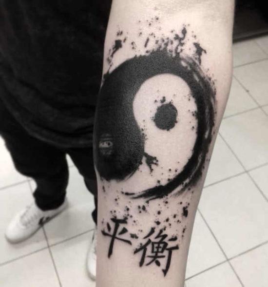 Tatuaże chińskie  – znaczenie, historia, 100 zdjęć Tatuaż etniczny Znaczenie tatuaży