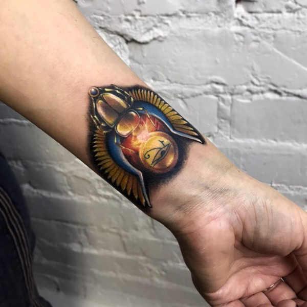 Tatuaże Egipskie Znaczenie Historia 80 Zdjęć