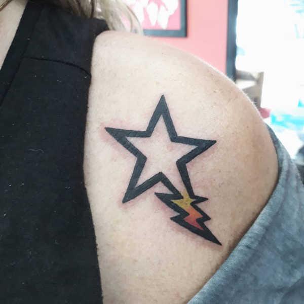 Znaczenie tatuaży  Tatuaże gwiazdki – znaczenie, historia, 30 zdjęć