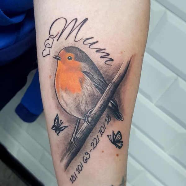 Pomysły na tatuaże  Tatuaże, które upamiętniają zmarłych członków rodziny – 65 wzorów