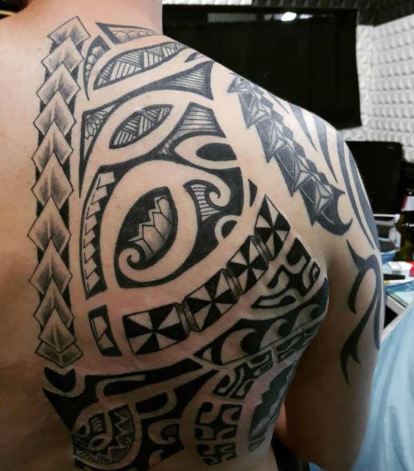 Tatuaże Maoryskie Znaczenie Historia 100 Zdjęć