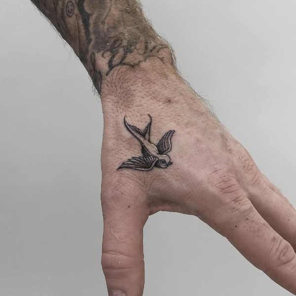 Tatuaże Na Dłoni Znaczenie 100 Zdjęć
