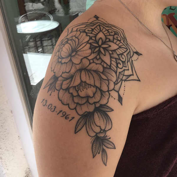Części ciała Pomysły na tatuaże  Tatuaże na ramieniu – 150 niesamowitych wzorów
