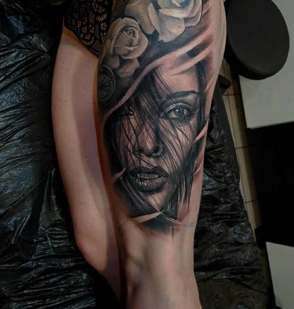 Pomysły na tatuaże  Tatuaże w 3D - 100 realistyczne wzory