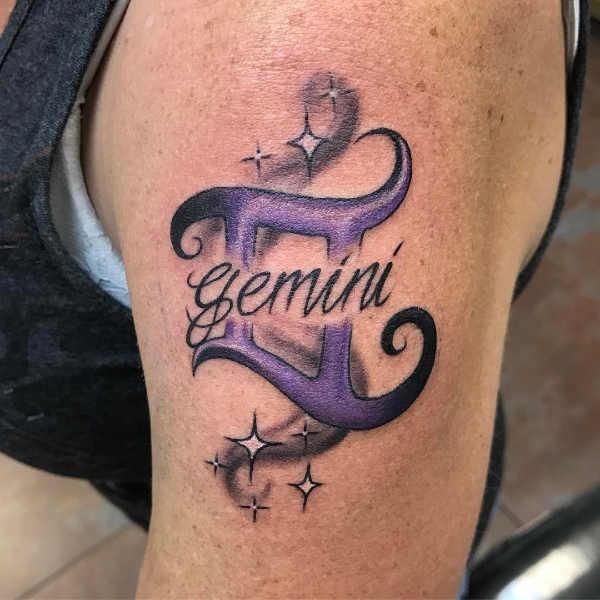 Znaczenie tatuaży Znaki zodiaku  Tatuaże ze znakami zodiaku: bliźnięta – znaczenie, historia, 48 zdjęć