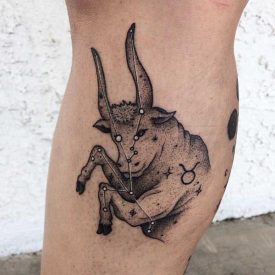 Tatuaże ze znakami zodiaku: byk – znaczenie, historia, 64 zdjęć Znaczenie tatuaży Znaki zodiaku
