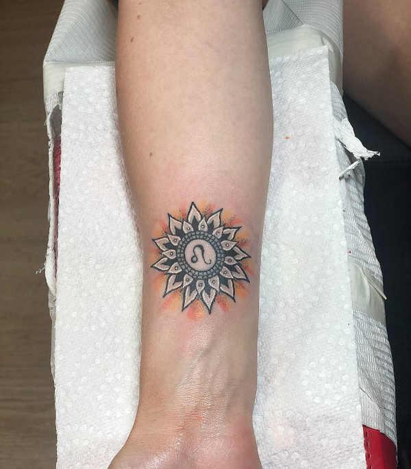 Znaczenie tatuaży Znaki zodiaku  Tatuaże ze znakami zodiaku: lwa – znaczenie, historia, 30 zdjęć