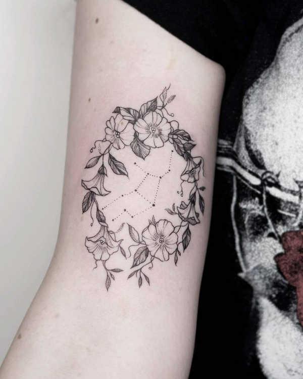 Znaczenie tatuaży Znaki zodiaku  Tatuaże ze znakami zodiaku: panna – znaczenie, historia, 25 zdjęć