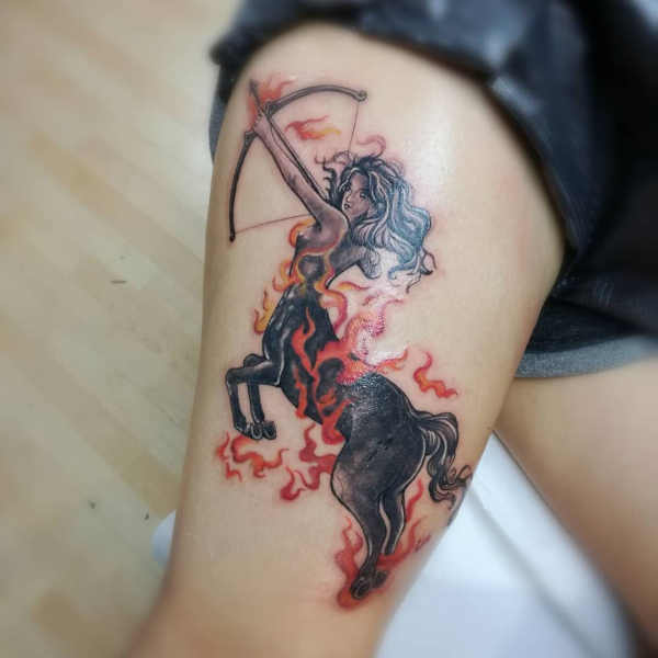 Znaczenie tatuaży Znaki zodiaku  Tatuaże ze znakami zodiaku: strzelec – znaczenie, historia, 35 zdjęć